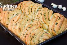 sarılsaklı ekmek