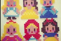 Hama beads disney princess