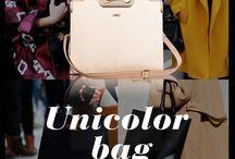 Sofisticated purse / Mujer empoderada reconoce en su cartera el mejor accesorio que hay. Usa una cartera unicolor para un outfit perfecto.