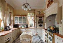 Art Nouveau Kitchen / Szecessziós konyhák /