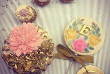 Cupcake vintage / Cupcake vintage, doce de casamento, doces finos, sweet treads
