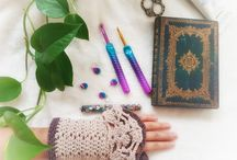 365 days Crochet Spirit Weavers / Crochet hook is my magic wand #crochetspiritweaver