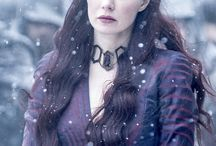 Melisandre / Favorite female from GoT