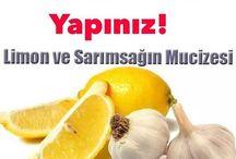 sarımsak limon kürü