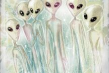 Aliens, UFOs, Giants and out of this world / by MrCritic56