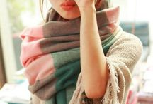 Scarf-ilicious / Stick out your neck - but keep it warm.