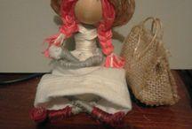 bamboline con i scovolini