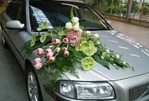 wedding car flower