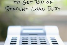 Student Loan Debt / Feel like you're buried under a pile of student loan debt with no way out? We can assure you there's a light at the end of the tunnel. Here's what you need to know about student loan debt and paying it off.