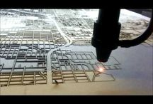 Cut Maps Videos / Cool videos of the laser cutting!