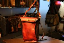 Artisan handcrafted leatherwork / Be inspirered by the beautyful leathergoods.