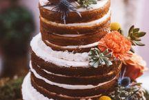 We love Naked Wedding Cakes!