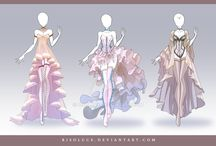 Vêtements mangas