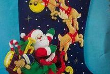 Botas navideño