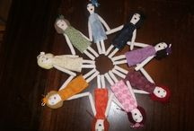 Star Heart - Cloth Dolls / I started making rag dolls in 2010, here is a selection of my creations.
