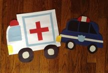Community Helper cars craft / This page has a lot of free Community Helper car craft for kids,parents and preschool teachers.