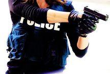 Detective Dunkle Agnes / Female//german//lesbian//police