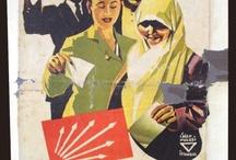 siyasi Afiş reklam broşür