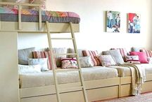 Bedroom ideas for the kids / by Carolyn Martin