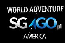 World Adventure SGGO.pl / II etap wyprawy dookoła świata rusza z początkiem maja 2013 roku, przez Amerykę Północną, Środkową i Południową. Do pokonania trasa o długości ponad 35 000 km, która biegnie przez 17 państw i kilka terytoriów.