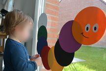 activités autour des couleurs