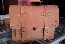 Classic Leather Bag / About Leather