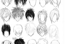 Howto draw Hair and Male bodys
