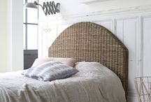 Fall a sleep in style with Tikamoon / Our headboards and beds can bring lightness to your bedroom and induces the feeling of a seaside setting. The charm of the design and the warmth of the teak can really add to the cosiness of your bedroom !
