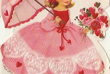 Valentine / Pictures of vintage cards and scenes / by Pam Harbuck