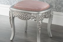 Estelle Silver Collection / Estelle Silver french furniture collection, a range of hand carved and ornate beds,chest of drawers, dressing tables, wardrobes and armoires  https://www.homesdirect365.co.uk/french-furniture-c487/matching-ranges-c372/estelle-silver-collection-c2319