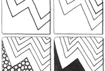 ART...Zentangle step outs