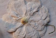 Silk flowers / Inspiration for handmade fabric flowers
