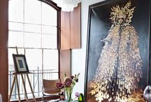 Home is where the ART is!!  / Some inspirational ways to add art to your home & office #diy #art #interiors