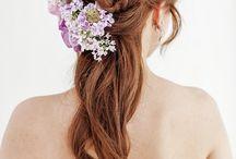 カラードレス 髪型