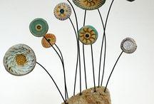 keramikblumen