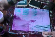 Mixed Media Art (Pretty Days Nessa)