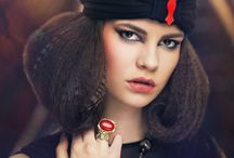 Look book for Alina Bancila jewelry