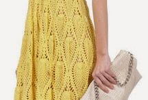 Crochet dress - Horgolt ruha