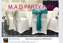 M.A.D Party Hire Brisbane / https://www.facebook.com/MADPartyHire