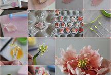 Fondant bloemen