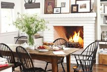 Dining room / Farmhouse dining decor