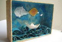 papírové dekorace