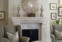 Fireplaces / by Susan Halstead