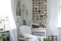 Decorating & inspirational ideas / There is something about the look that I like / by Margaret Farrell
