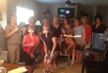 Fun with our Hosts & Guests / Pictures of some of our In-Home Tastings.  #Gracetime, #inhometastings