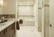 TDF Interiors Design Project: Serene Contemporary Bathroom in Earth Tones / Serene Contemporary Bathroom in Earth Tones. Bathroom Renovation. Chicago North Shore Interior Designer. Residential Interior Design. Residential Design. Interior Decor. Custom Design