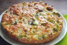 brokolicový dort bez mouky