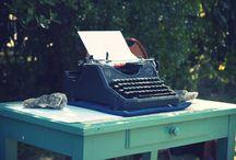 Machine à écrire ♥