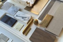 Sample board / Interior design
