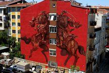İstanbul'da sokak sanatı